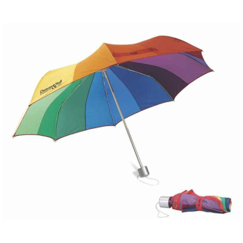 - Parapluie multicolore rétractable MU4378